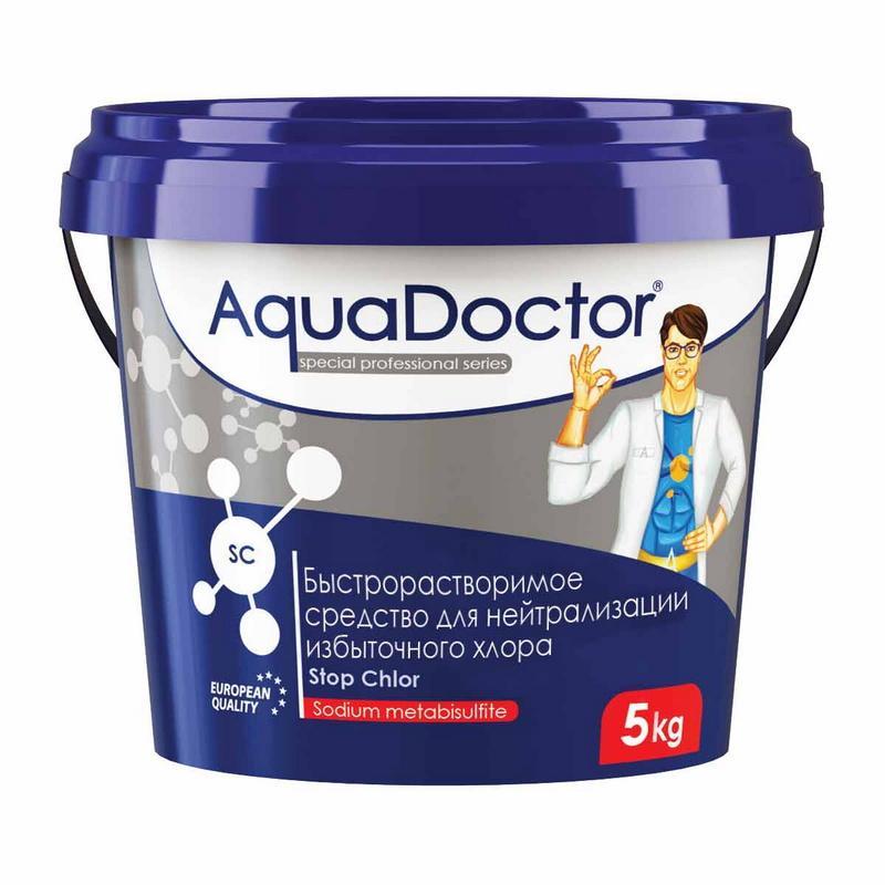 Купить SC Stop Chlor AquaDoctor 1 кг (Турция) 1,