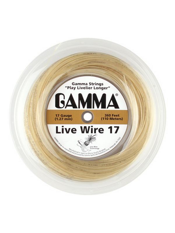 Катушка струн Gamma Live Wire XP 17 (Natural, Black) 110, 100 м