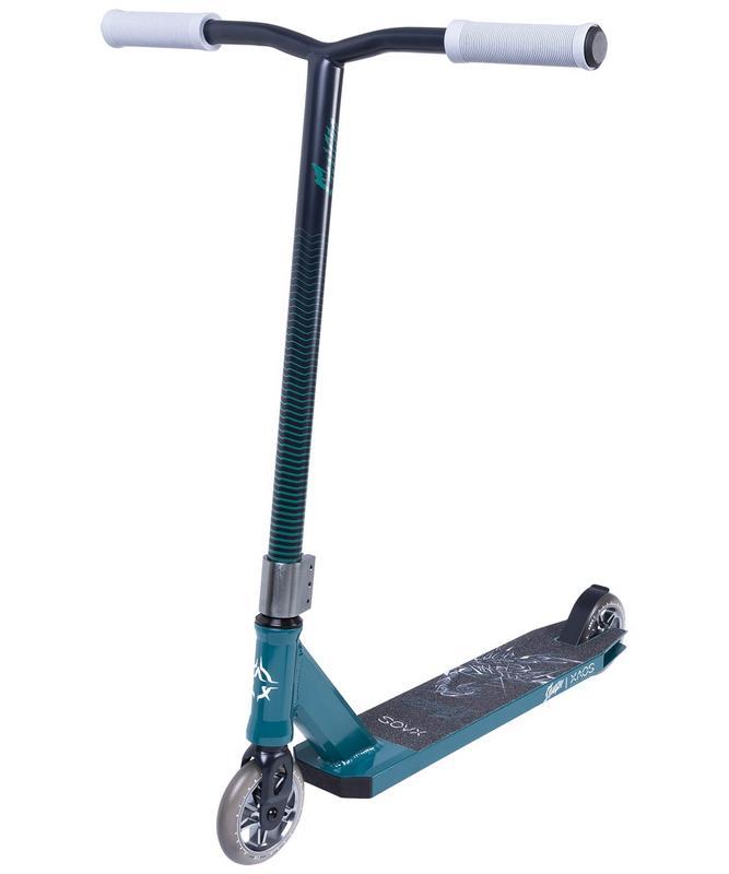 Купить Самокат трюковый XAOS Stinger Green 110 мм,
