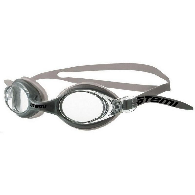 Купить Очки для плавания Atemi N7105 серебро,
