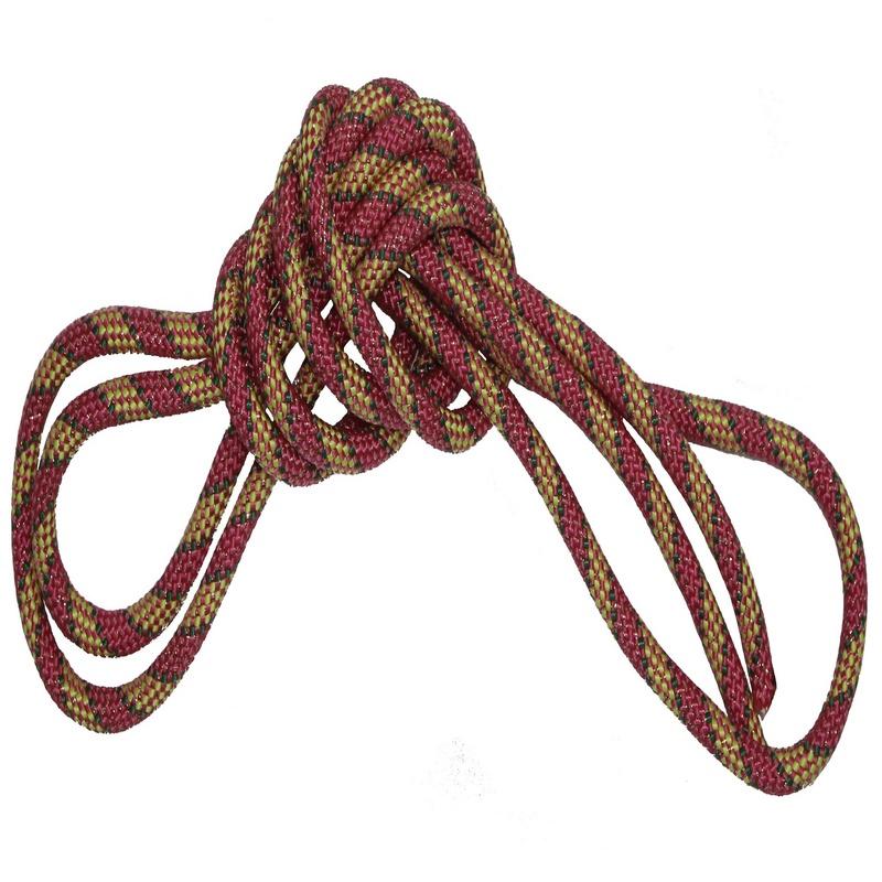 Скакалка гимнастическая Body Form BF-JRG01 250 см (желтый-розовый-зеленый)