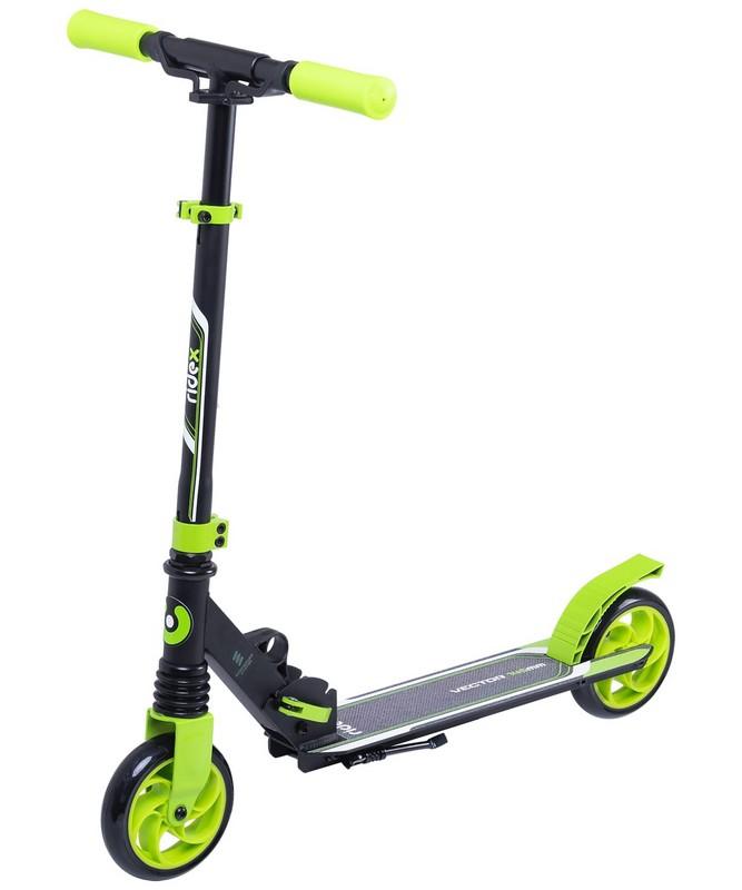 Купить Самокат 2-х колесный Ridex Vector 145 мм, зеленый,