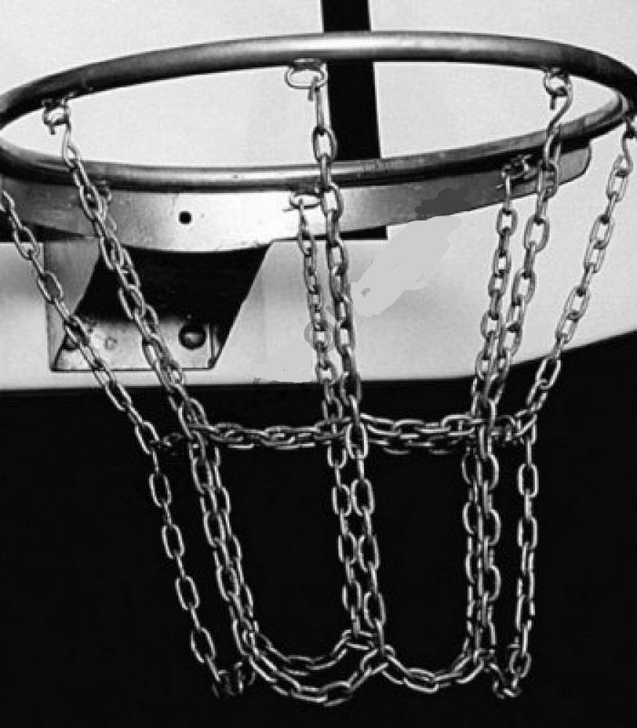 Кольцо баскетбольное, оцинкованное №7, 8 пунктов крепления сетки Pesmenpol