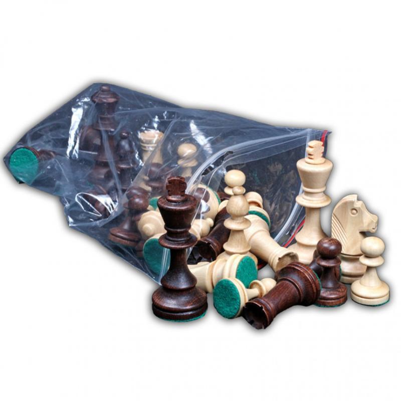 Купить Шахматные фигуры Wegiel Стаунтон 4 wi25, NoBrand