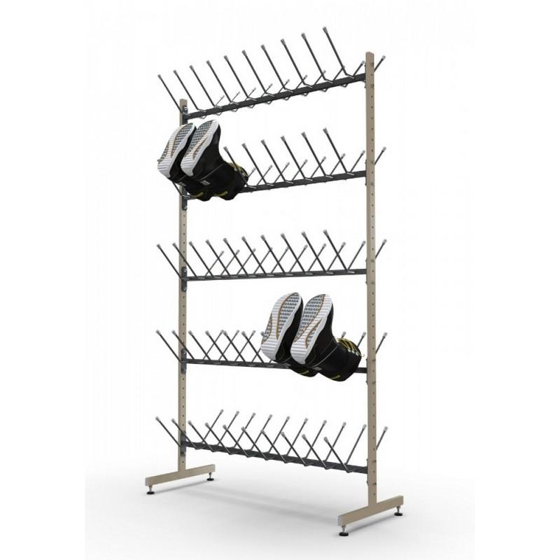 Купить Стеллаж «Эконом» для спортивной обуви на 50 пар (д) Gefest, Gefest