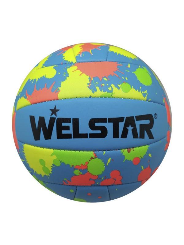 Мяч волейбольный WelStar VMPVC4359C р.5,  - купить со скидкой