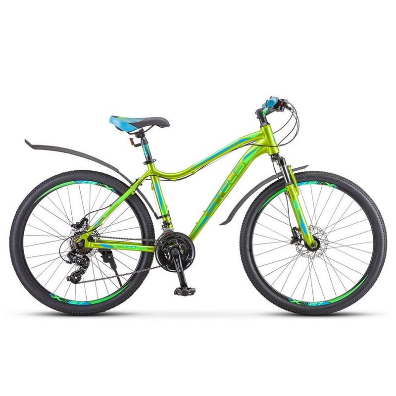 Купить Велосипед Stels Miss-6000 D V010 2020 ЖёлтыйЗелёный (LU093825),