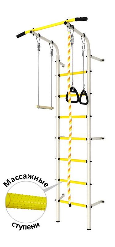 Купить Детский спортивный комплекс DSK Пристенный с регулировкой (с массажными ступенями) ДСКМ-2С-7.06.Г1.410.14-24,