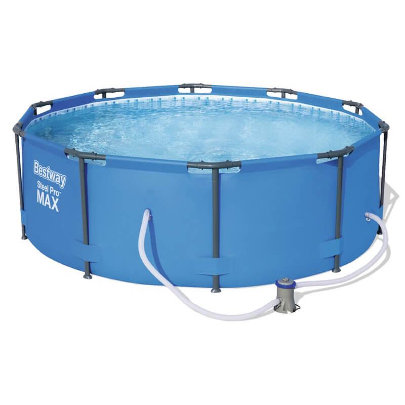 Купить Каркасный бассейн Bestway Steel Pro Max 56984, 305х100 см (фильтр)