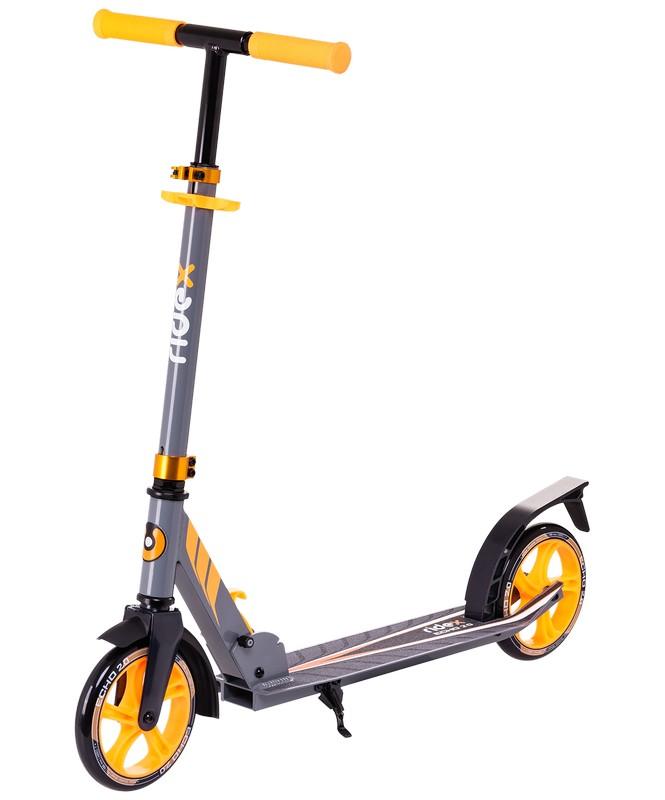 Купить Самокат 2-колесный Ridex Echo 2.0 180 мм, оранжевый,