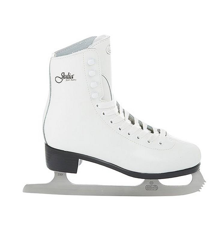 Фигурные коньки СК Julia белый
