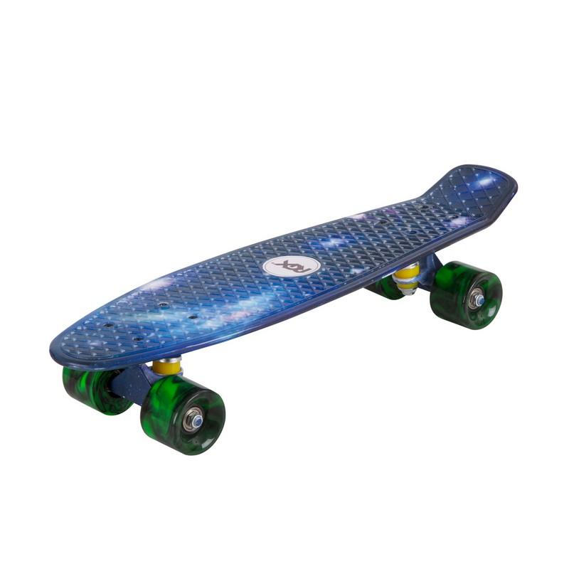 Мини-круизер RGX PNB-03 Blue скейт мини круизер turbo fb stawberry grass red green white 22 55 9 см