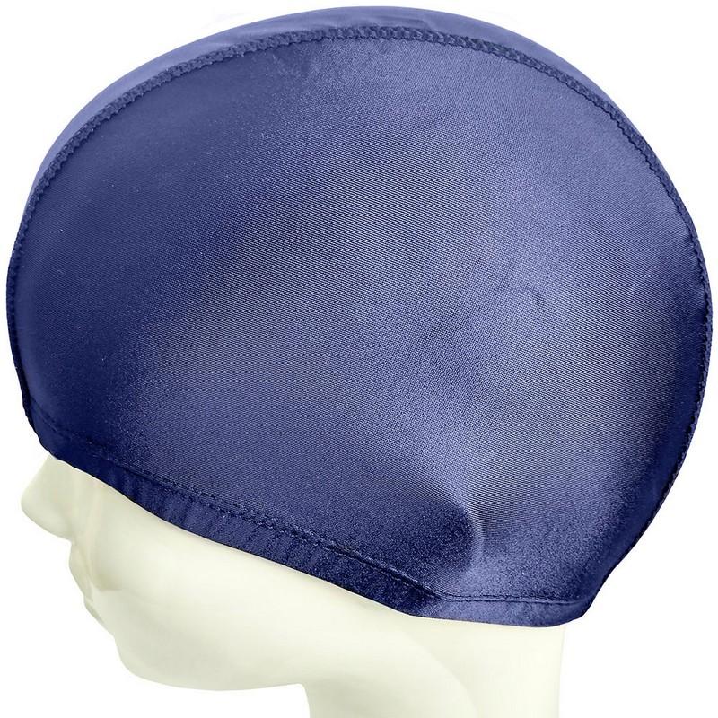 Купить Шапочка для плавания полиамид-эластан C33457-6 темно-синяя, NoBrand