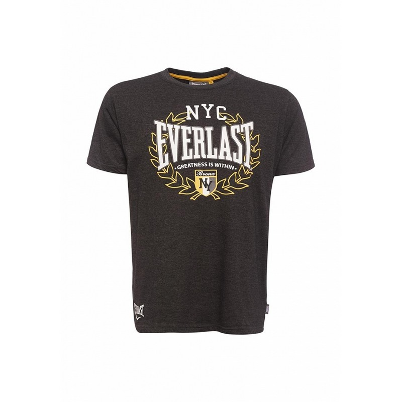 Футболка Everlast Sports Marl NYC черная EVR9025 BK