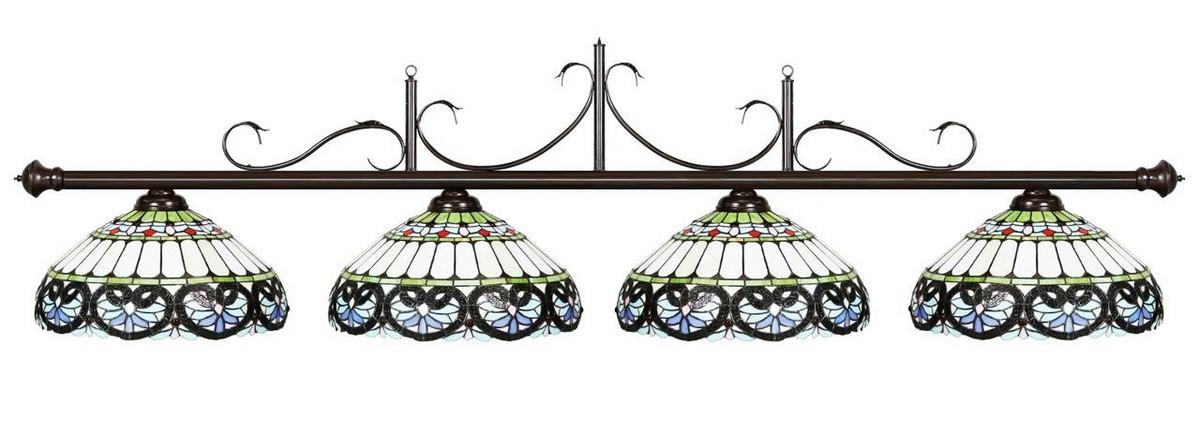 Купить Лампа на четыре плафона R.A.M. Casablanca 73-B80-OB,
