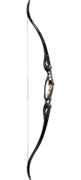 Лук традиционный Hoyt Tiburon 64 quot; 60 Black Xtra