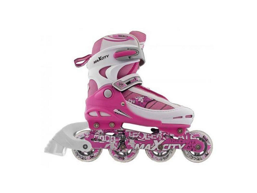 Роликовые коньки MaxCity Symbol розовый роликовые коньки maxcity expert female