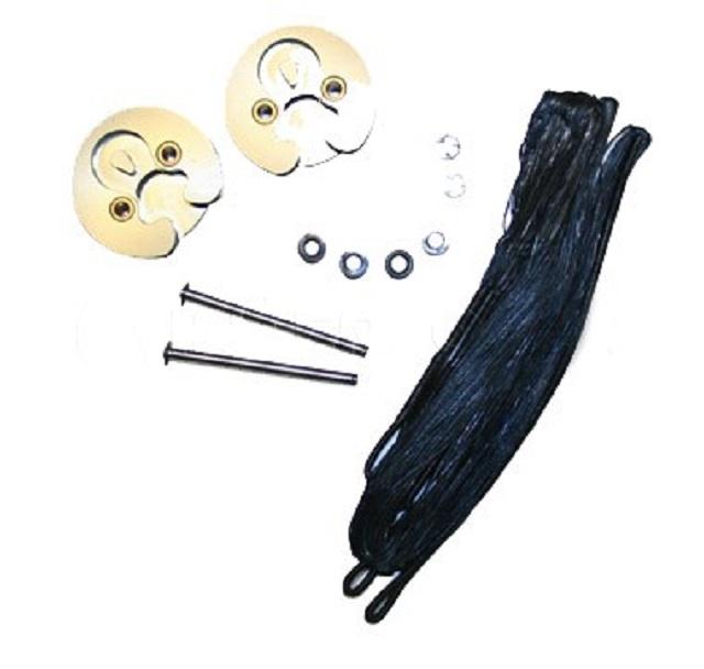 Комплект блоков с тросами для арбалета Гепард черный Interloper CR-038002