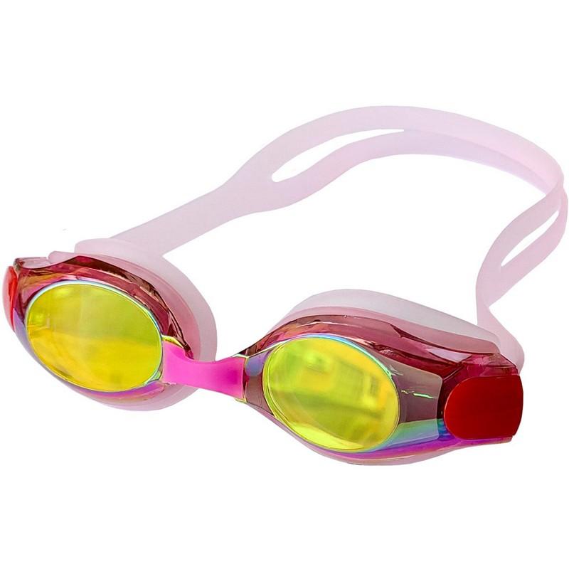 Очки для плавания со сменной переносицей B31550-2 Розовый фото