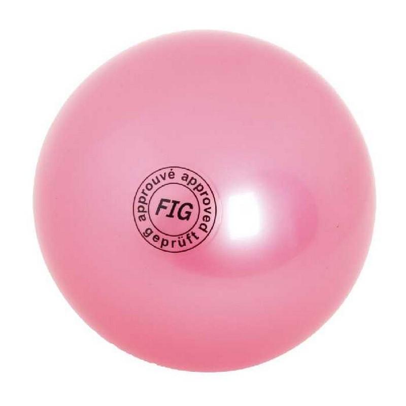 Купить Мяч для художественной гимнастики Indigo D=19 см оранжевый,
