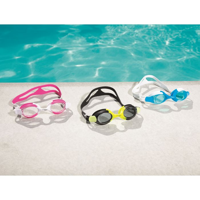 Очки для плавания Ocean Crest, три цвета, от 7 лет Bestway 21065