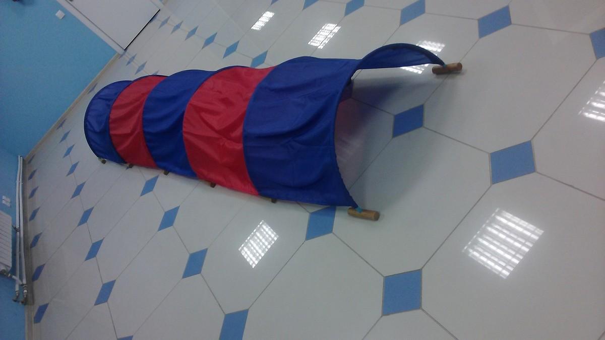 Купить Тоннель для подлезания ФСИ 5 секционный, h-60 см, L-5 м, шаг-1 м, 2304, Детское игровое оборудование