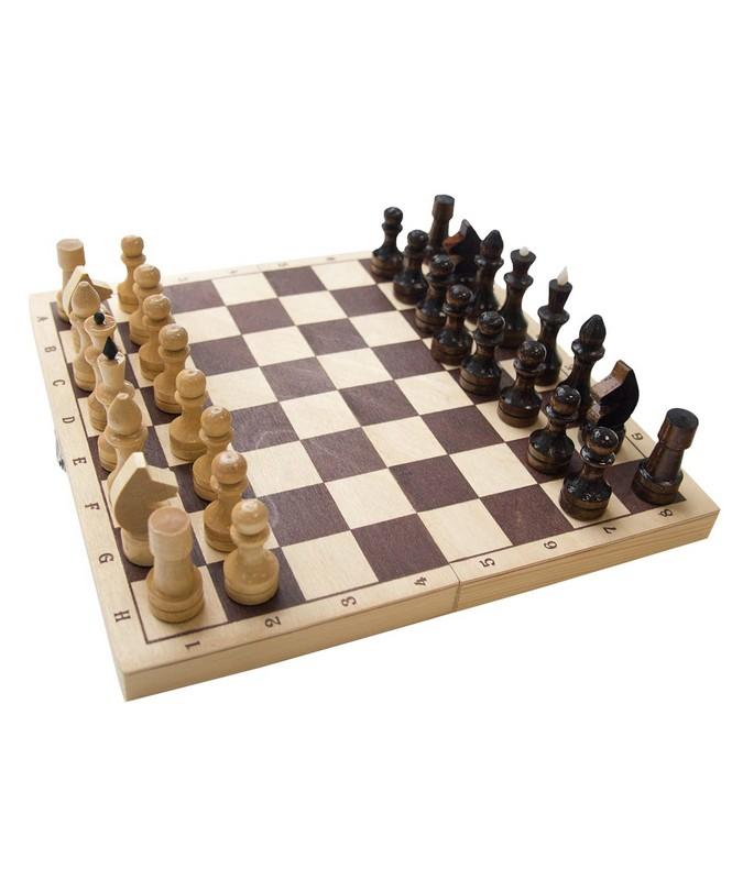 Шахматы Обиходные 29х14,5х3,8 см фото