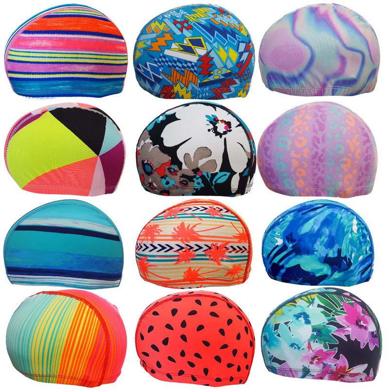 Купить Шапочка для плавания текстиль (Пляж) C33230-1, NoBrand