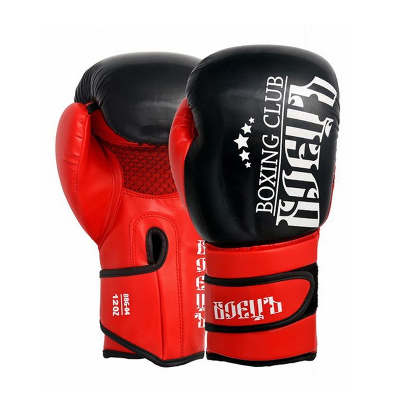 Купить Боксерские перчатки Боецъ BBG-04 Красные 10 oz,
