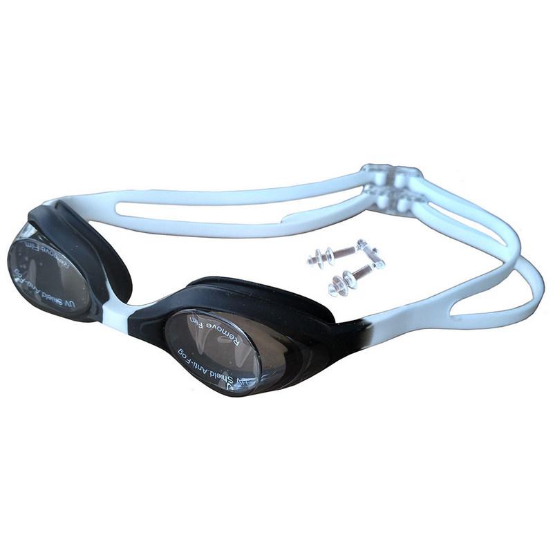 Очки для плавания детские R18165 JR (черно-белые) фото