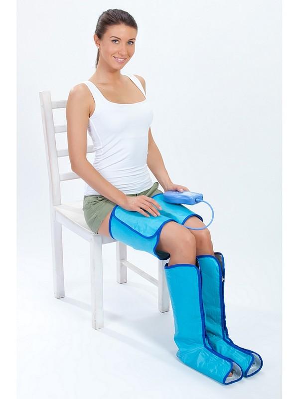 Аэромассажер для ног Bradex счастливые ножки (air compression leg wraps) KZ 0303 чехол для смартфона samsung galaxy s8 зеленый ef pg955tgegru ef pg955tgegru
