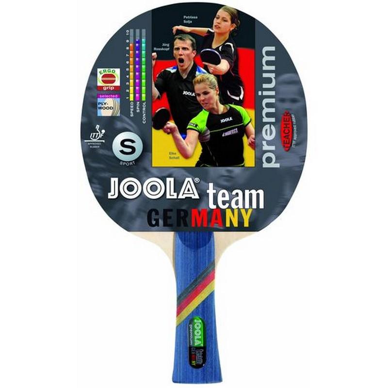 Ракетка для настольного тенниса Joola Team Germany Premium 52002 ракетка для настольного тенниса joola competition gold 59560