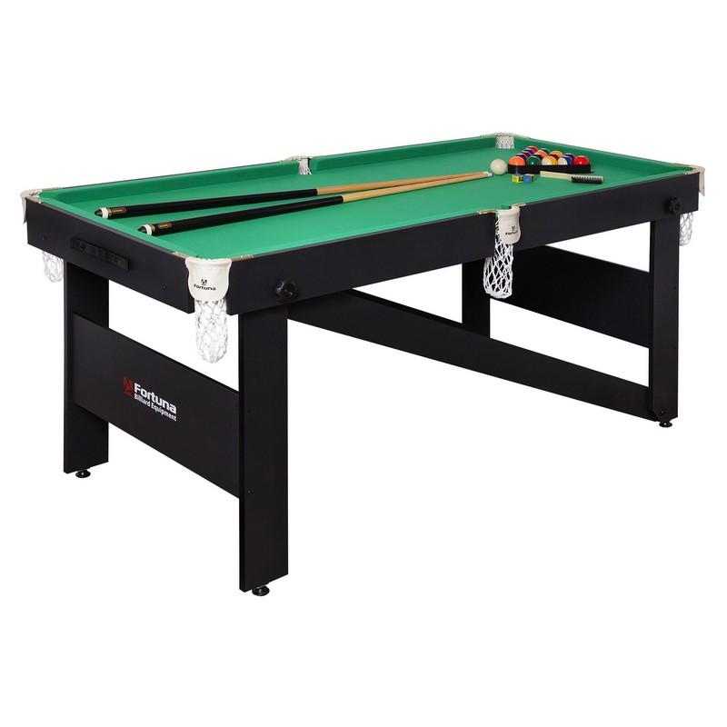 Купить Бильярдный стол Fortuna Hobby BF-630P Пул 6фт с комплектом аксессуаров 08528,