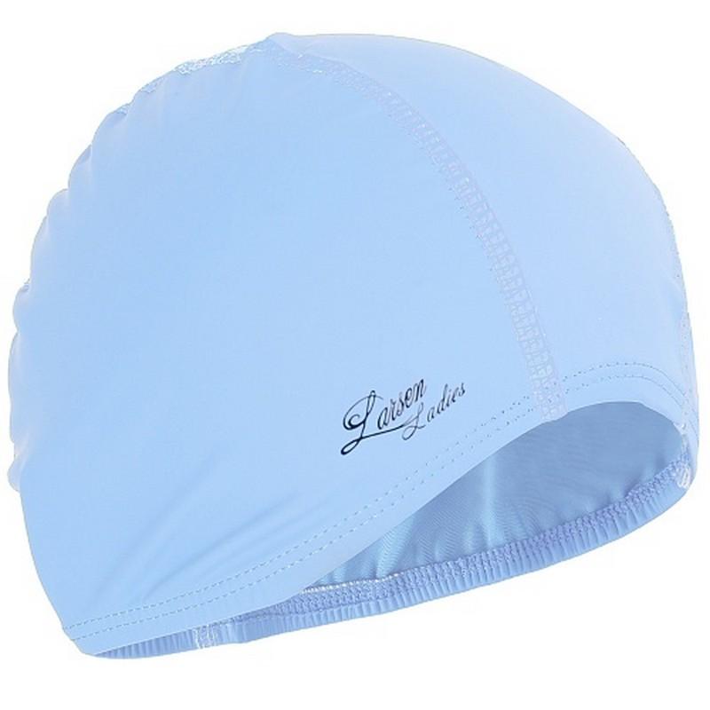 Купить Шапочка плавательная Larsen 3059 Ladies голубой,