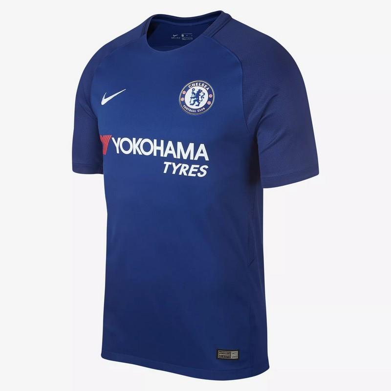 Футболка игровая Nike Cfc Brt Stad Jsy Ss Hm 905513-496 синяя футболка aeronautica militare 172ts1433j372 08184