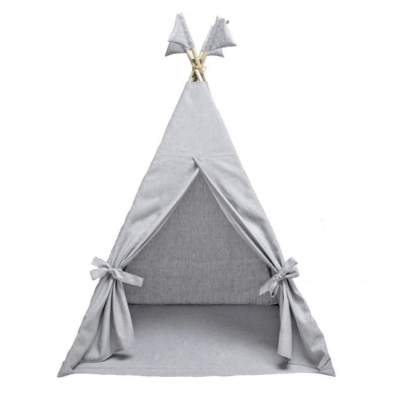 Купить Детский Вигвам Romana Tipi Sky 4.003.00 серый,