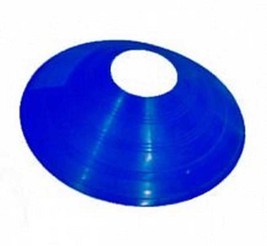 Купить Конус фишка разметочный h5см, пластиковый KRF-5 синий, NoBrand
