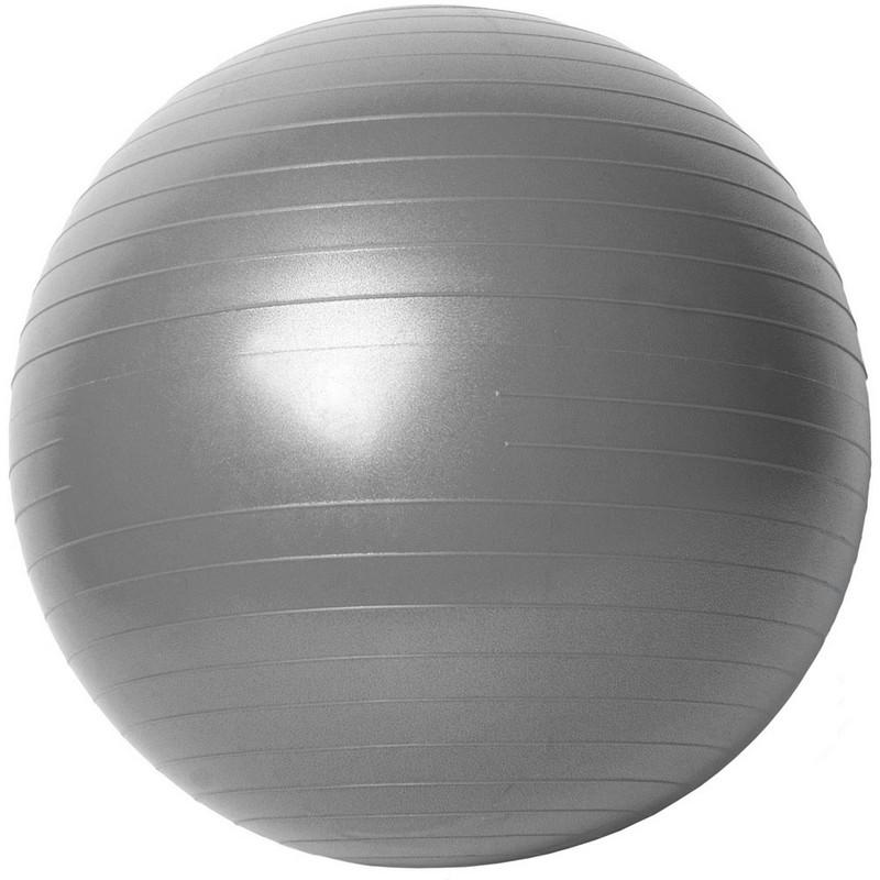 Купить Гимнастический мяч Gym Ball B31170-2 90 см серый, NoBrand