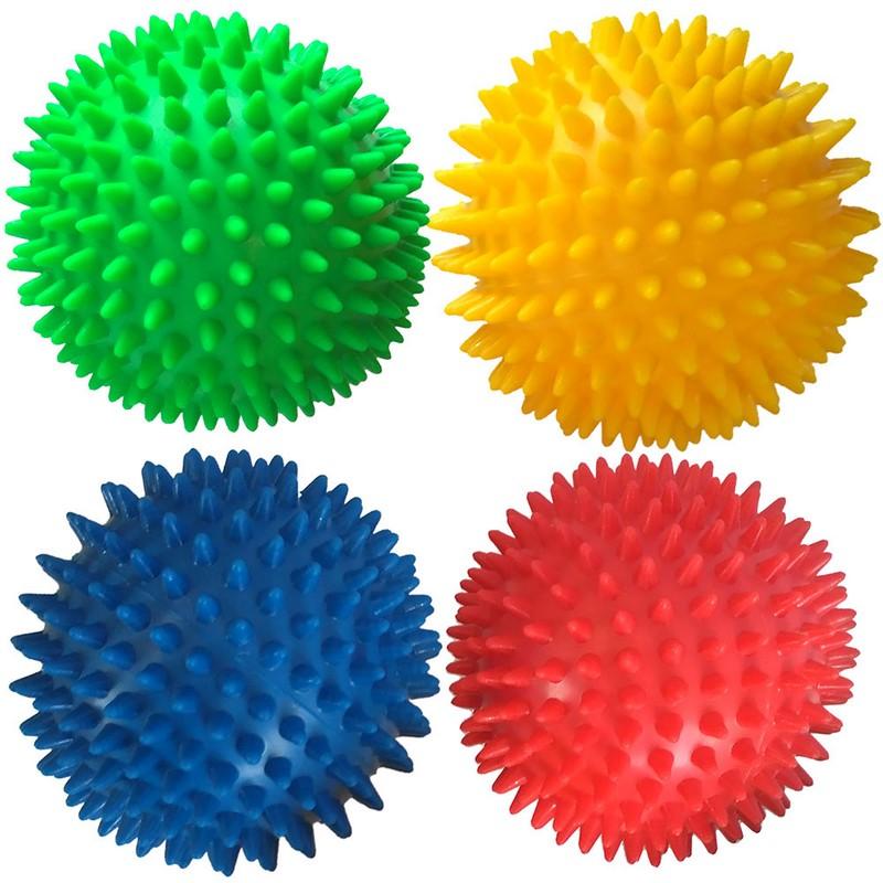 Купить Мяч массажный твердый Диа 9 см T07639 синий, NoBrand