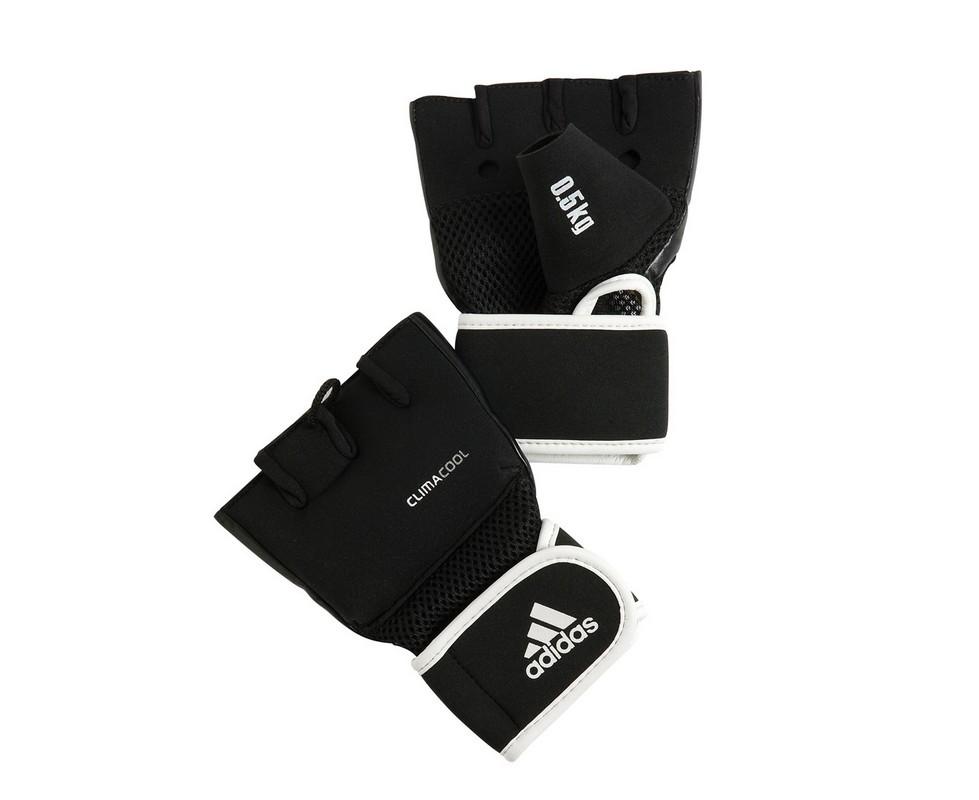 Перчатки с утяжелителями Adidas 0.5 кг Cross Country Glove черные adiBW01 adidas predator junior gk glove