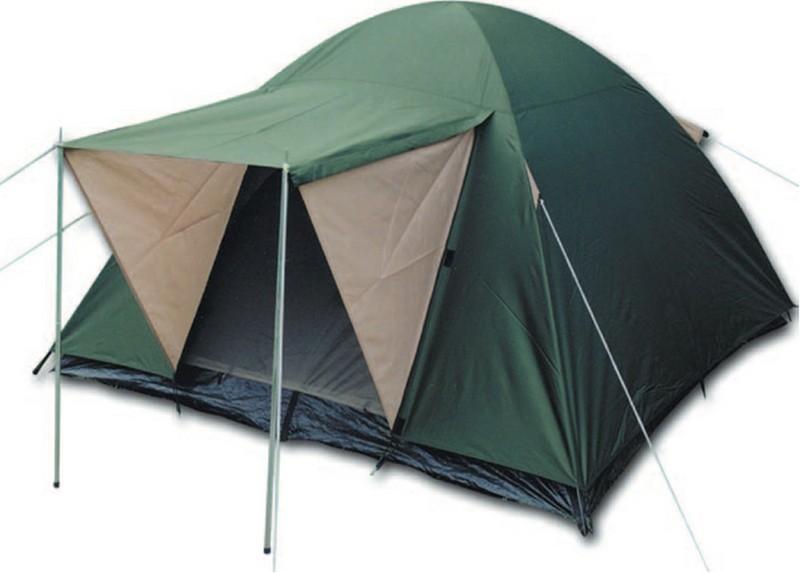 Палатка 3-м Bergen Sport Igloo-1 зелёный/бежевый