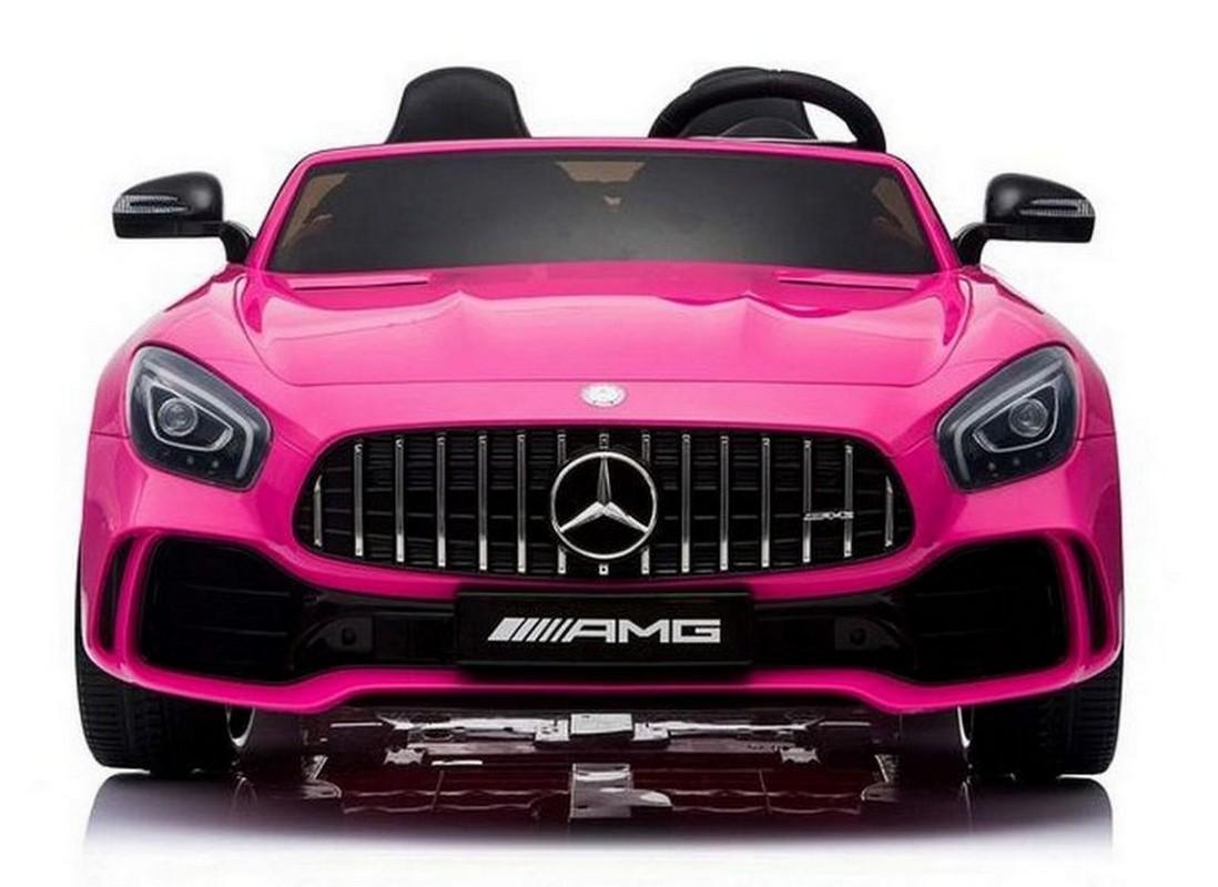 Купить Детский электромобиль River-Toys Mercedes Benz AMG GTR HL289 Pink, Детские электромобили