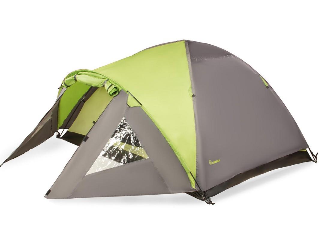 Палатка 4-м Larsen A4 салатовый-серый