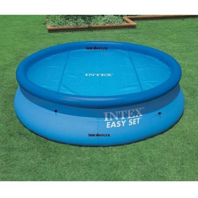 Солнечный тент для круглых бассейнов диаметром 244см Intex 59958