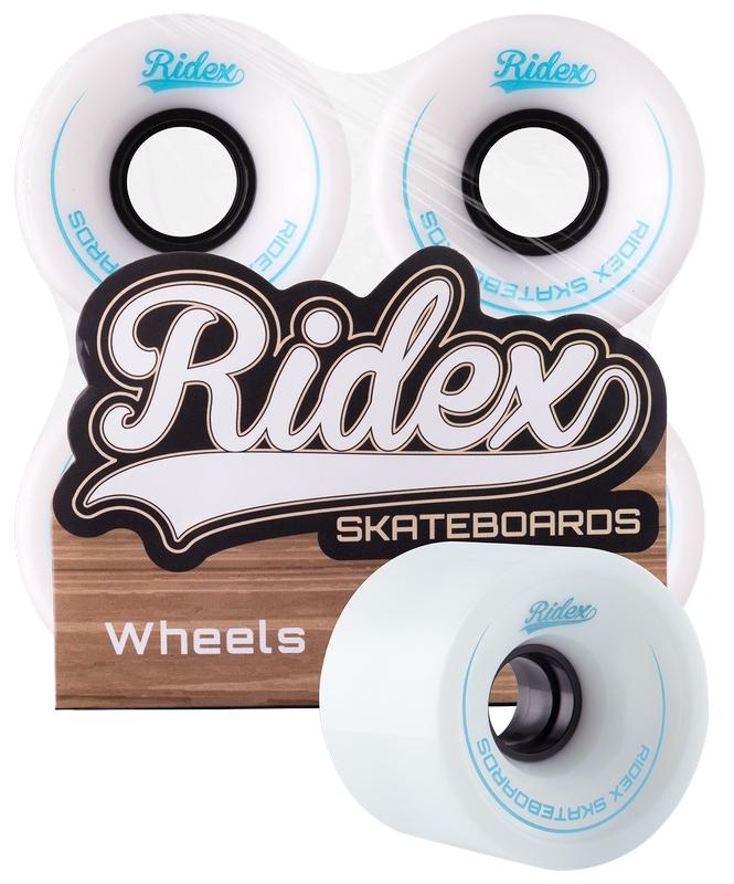Комплект колес для круизера Ridex SB, 82А, 60x45мм, белый, 4 шт.