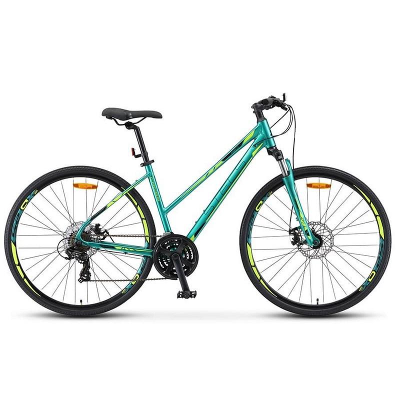 Купить Велосипед Stels Cross-130 MD Lady 28 V010 2019 Зелёный (LU091707),