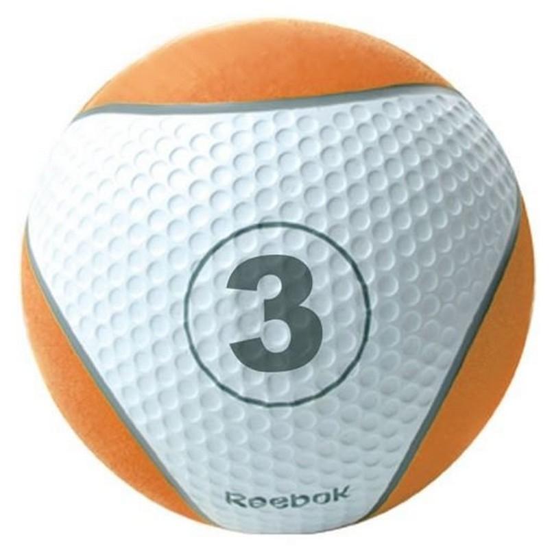 Медицинский мяч 3 кг Reebok RE-21123 оранжевый