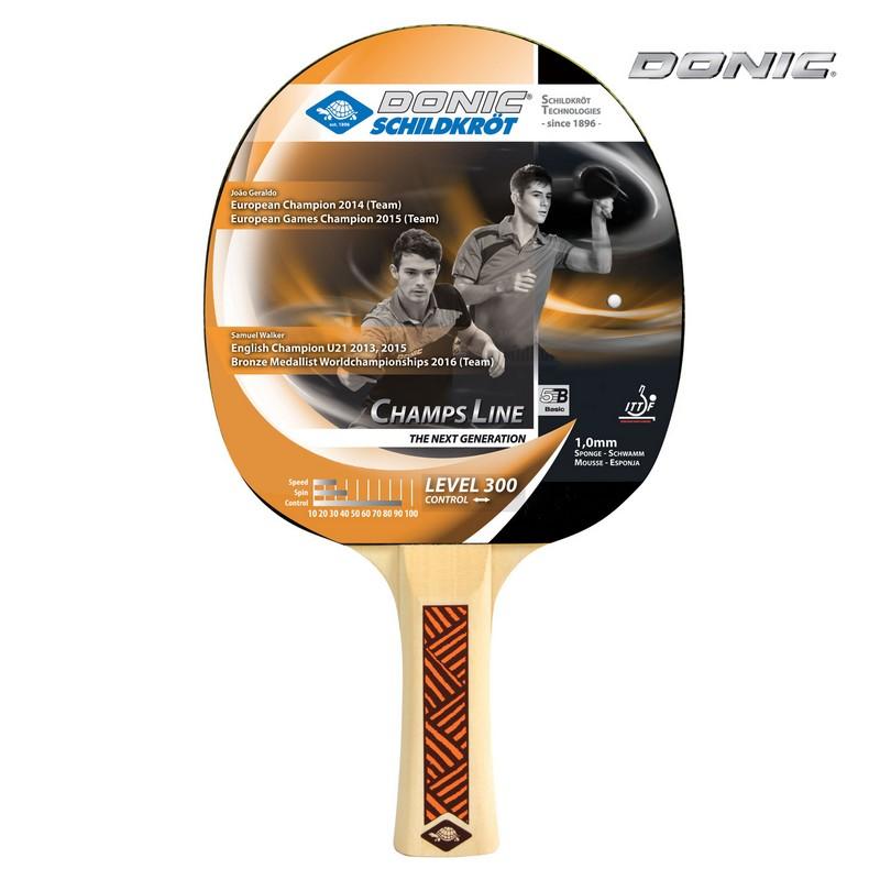 Ракетка настольного тенниса Donic Champs 300 donic baracuda