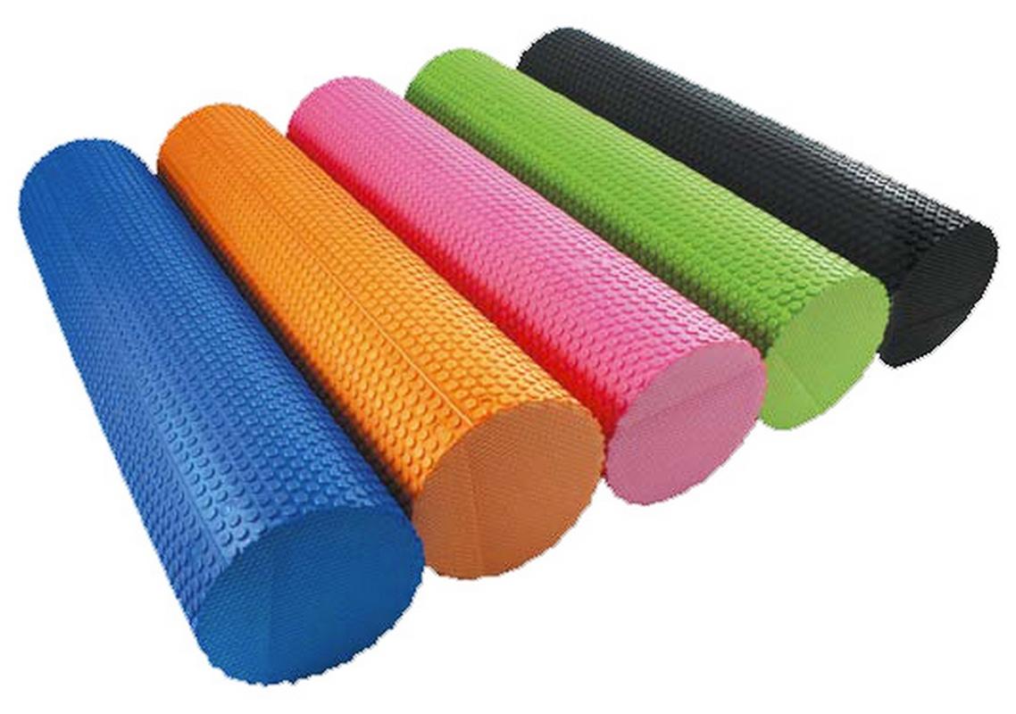 Валик для йоги HouseFit EVA 15x45см зеленый цена