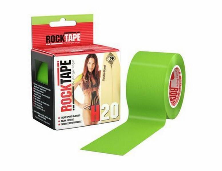 Кинезиотейп RockTape H2O, лайм-зеленый 2165 от Дом Спорта